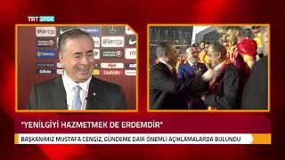 Başkanımız Mustafa Cengiz, TFF Olağan Seçimli Genel Kurulu sonrası gündeme dair açıklamalar yaptı.
