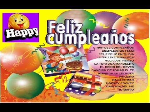 Feliz Cumpleaños Cd Completo Canciones Infantiles Youtube