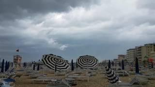 Unwetter in Lido di Jesolo