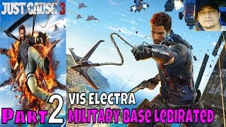 Just Cause 3 Part 2 Walkthrough Gameplay Lets Play Live Commentary