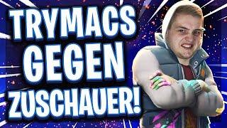 💪😂TRYMACS vs ZUSCHAUER! | 1🆚1 Spielwiese Best of 5! | Road to Pro!