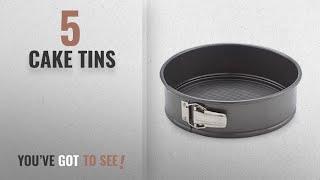 Top 10 Cake Tins [2018]: Teflon Round Cheese Cake Mould, Black