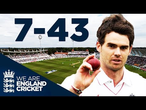 The King Of Swing At His Best: Anderson Takes Brilliant 7-43 v New Zealand 2008 - Full Highlights