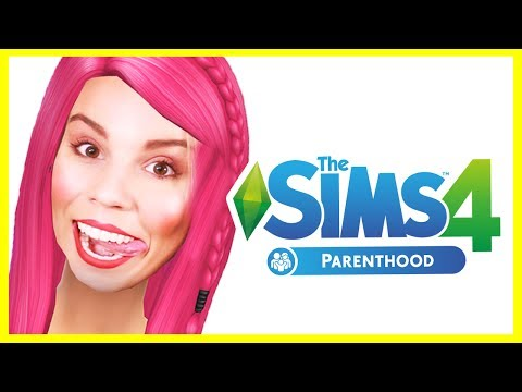 THE SIMS 4 PARENTHOOD!!! - Create A Sim Review