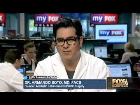 Dr. Armando Soto Talks About the Rise of Plastic Surgery to FBN