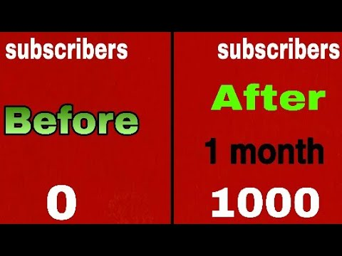 how to get first 1000 subscriber on youtube | Live Proof my subscriber