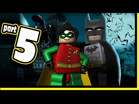 Lego Batman Video Game DS Walkthrough - Part 5 Gotham Docks