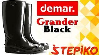 Мужские сапоги Demar Grander OB SRA Black. Видео обзор от WWW.STEPIKO.COM