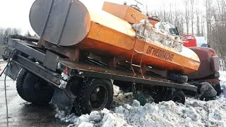 Best truck crashes, truck accident compilation 2015 Part 4