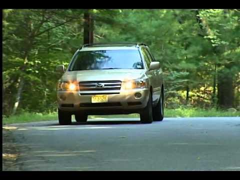 2006 Toyota Highlander Hybrid Test Drive