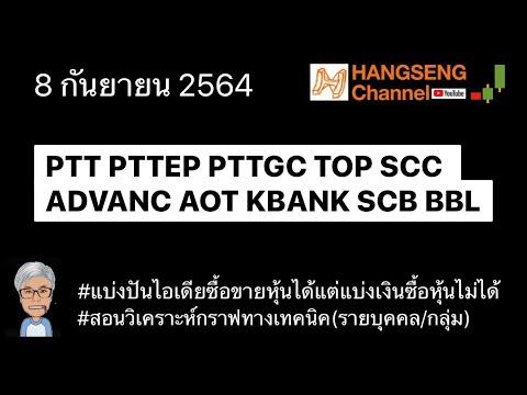 EP178 #ptt #pttep #pttgc #top #scc #advanc #aot #kbank #scb #bbl #กราฟแท่งเทียน
