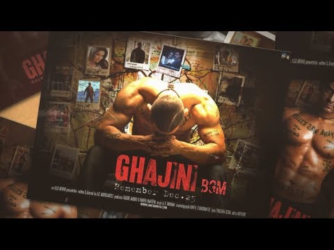 Ghajini BGMs   An A.R.Rahman Musical
