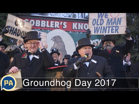 Video: Groundhog Day 2017