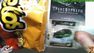 Распаковка и Обзор Еды Кукурузные Палочки