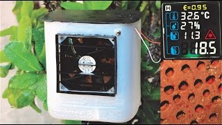How to Make  Air Cooler - AC out of Junk // Using Brick