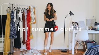 HOT SUMMER OUTFITS 🔥 | lookbook for hot summer days