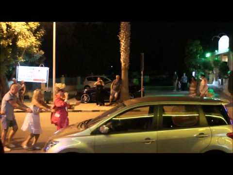 Jason Watkins as Comedy Elvis in Cyprus 2013