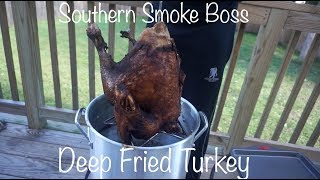 Deep Fried Turkey With Injection | How To Deep Fry A Turkey | Southern Smoke Boss