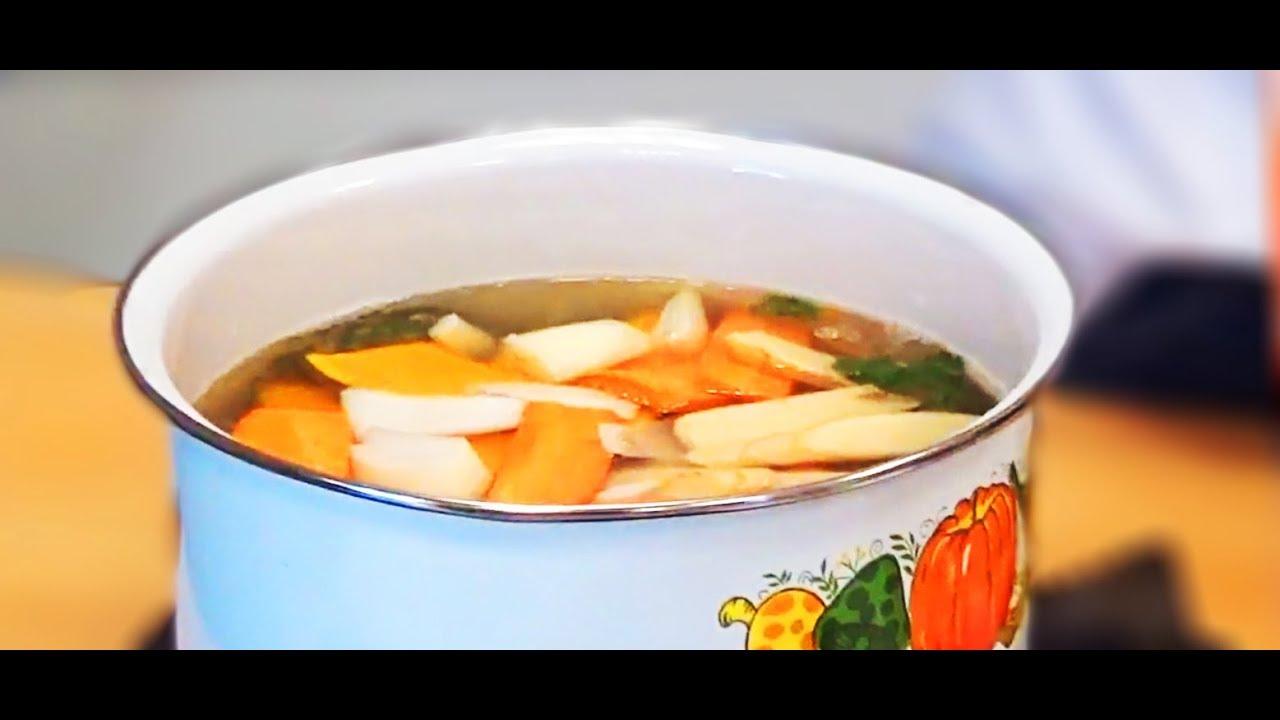 南瓜蔬菜排骨湯作法-真情食品館 - YouTube