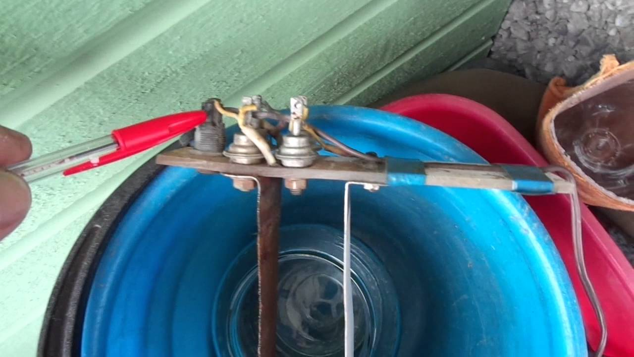 Аппарат для живой и мертвой воды Микротон Лайт - YouTube