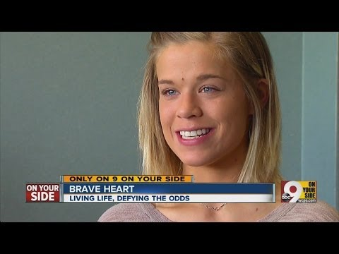 Woman With Brave Heart Defies The Odds
