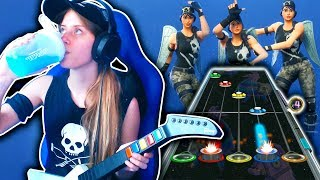 FORTNITE DANCES GONE METAL ON GUITAR HERO (Floss, Take the L, Best Mates, & MORE!)