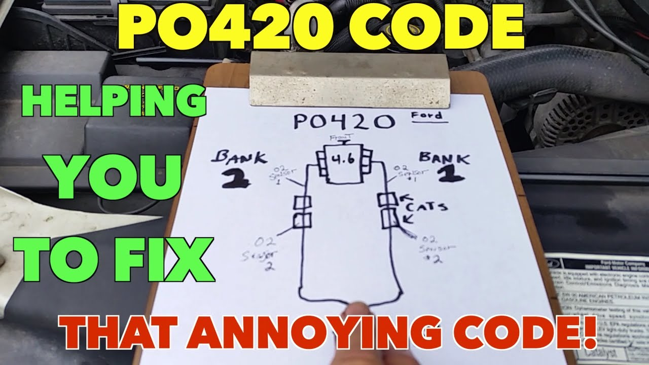 I will help you with your PO420 code. Been there done that ...