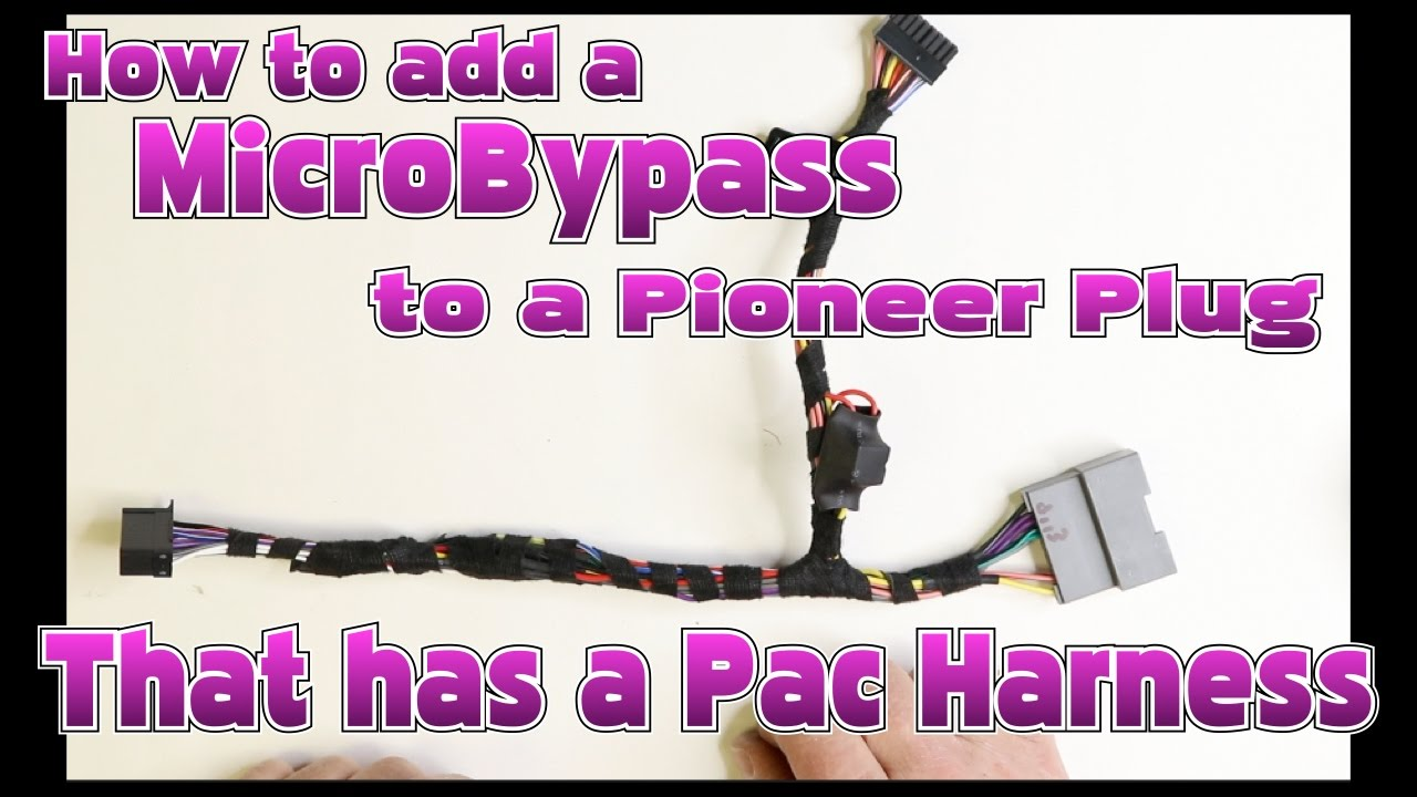 maxresdefault how to add a microbypass to a harness if you have a pac interface os 2bose pac wiring diagram at reclaimingppi.co