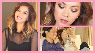 Get Ready With Me ♡ Valentine's Day & Night Makeup + Outfit! - ThatsHeart Thumbnail