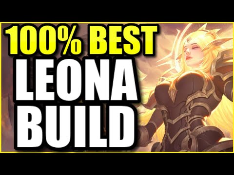 THIS is the 100% BEST LEONA SUPPORT BUILD for SEASON 11 (UNBEATABLE ENGAGES)