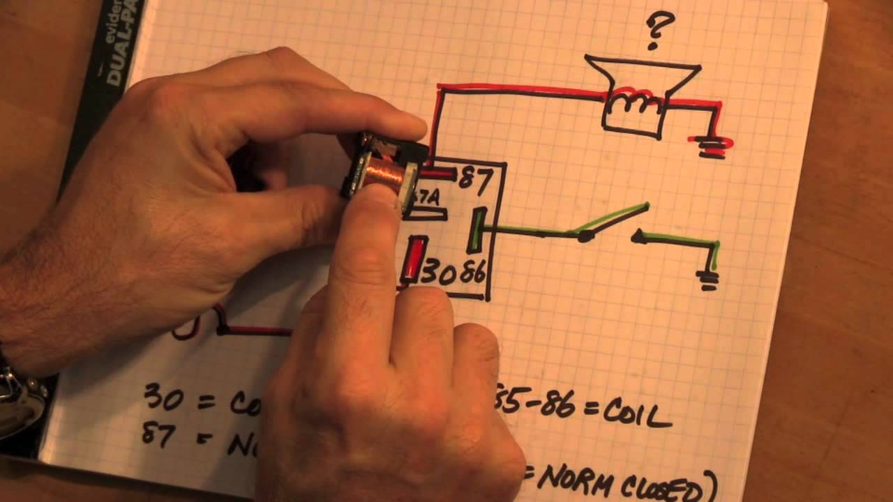 VEHICLE RELAYS Operation  Diagnosis YouTube - How to test 12v 5 pin relay