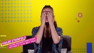 Скачать Hailee Steinfeld Thinks She Ruined MGK S At My Best Video