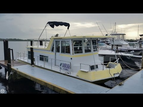 [SOLD] Used 1970 Nautaline 34 Houseboat in Stuart, Florida