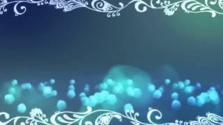Футаж Абстрактный Голубой Фон Узоры и Пузыри видео фон для слайд шоу