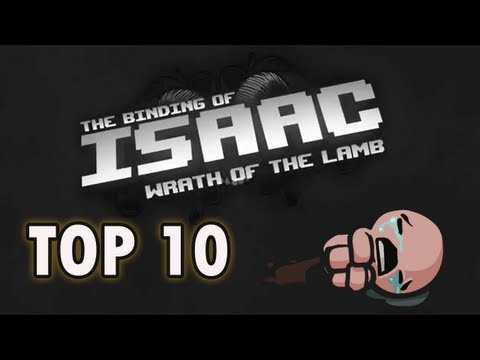 Top 10 Items in The Binding of Isaac!