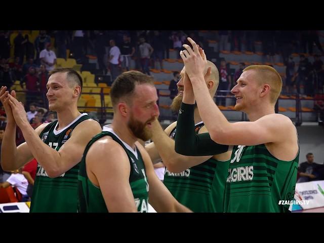 #SlowMotion: Zalgiris wins Game 1 in Piraeus