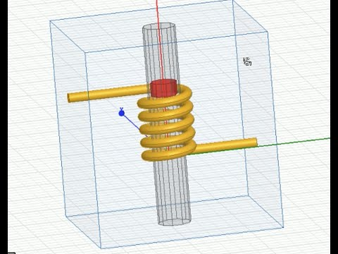 408 - Ansys Maxwell | Translational motion [2/3]