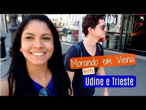 Vlog viajando para a Itália - Udine e Trieste