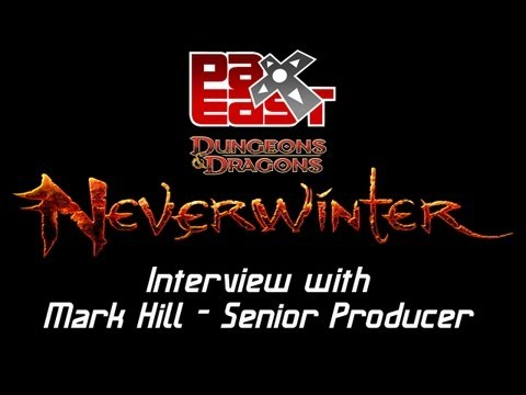 [Pax East 2013] Neverwinter Online: Interview with Mark Hill