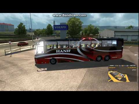 How To Use Bus Mod | Euro Truck Simulator 2