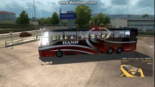 How To Use Bus Mod   Euro Truck Simulator 2