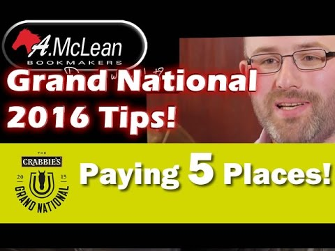 Grand National 2016 Tips from AMcLean Bookmakers