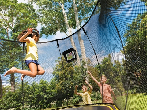 Springfree Trampoline - The Smart Trampoline!