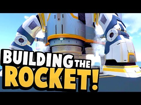 Subnautica - BUILDING THE SUBNAUTICA ROCKET! End Game Rocket Construction Gameplay & Updates!