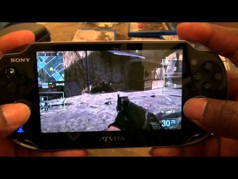 Call of Duty Black Ops: Declassified Multiplayer Gameplay (PS Vita)
