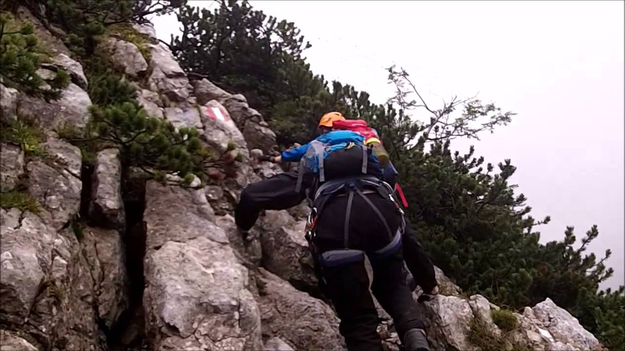 Klettersteig Kärnten : Hochstuhl klettersteig kärnten youtube