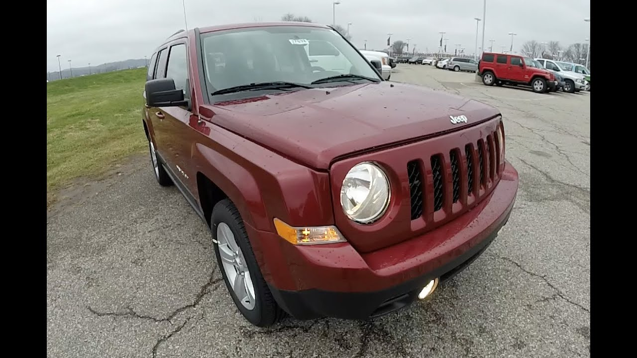 2015 jeep patriot latitude 4x4 red four wheel drive martinsville in 17632 youtube. Black Bedroom Furniture Sets. Home Design Ideas