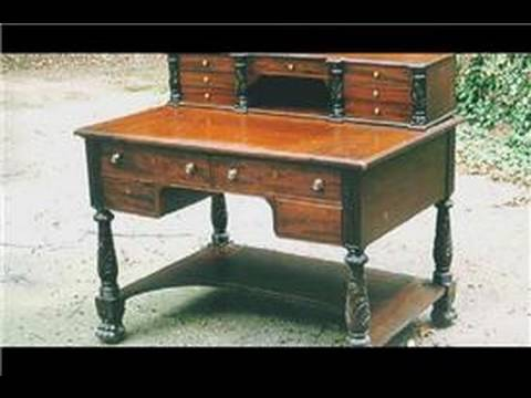 Antique Furniture : About Victorian Desks