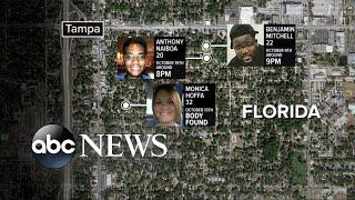Authorities searching for killer terrorizing a Tampa Bay neighborhood