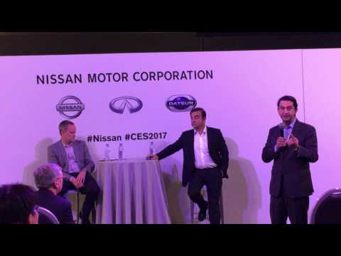 Nissan chief performance officer (CPO) José Muño at CES2017